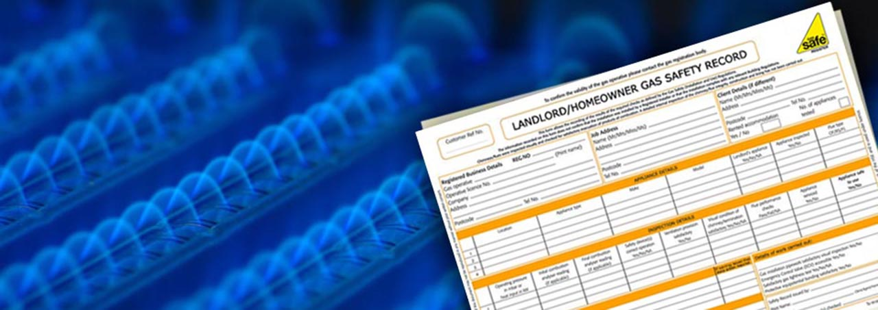 Landlord and homeowner gas safety certificates